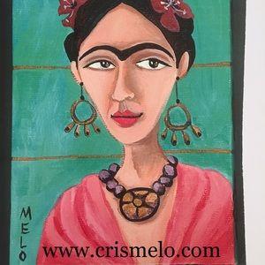 limited edition print Frida Kahlo MeloEarth